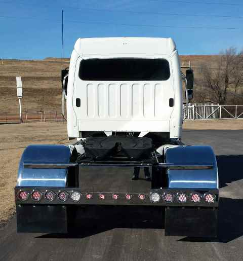 Photo gallery bumper light bar on semi truck mozeypictures Image collections